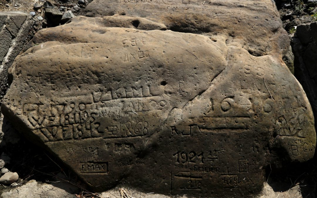 """HUNGER STONES"" REVEAL EXTENT OF CURRENT EUROPEAN DROUGHT"