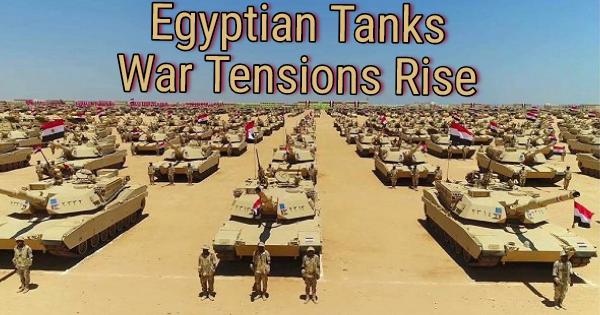 WAR TENSIONS RISE IN EASTERN MEDITERRANEAN REGION