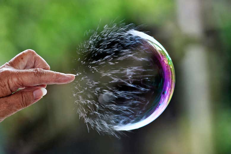 IS THE GLOBAL DEBT BUBBLE ABOUT TO BURST?