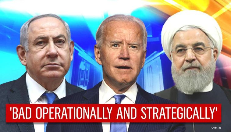 BIDEN'S ACTIONS MAY CAUSE A MIDEAST WAR